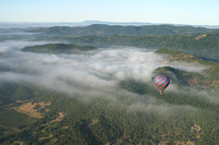 Balloon Over Napa